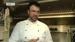 euromaxx a la carte | Seeteufel aus dem Ofen mit confierten Kirschtomaten und Kartoffel-Olivenstampf