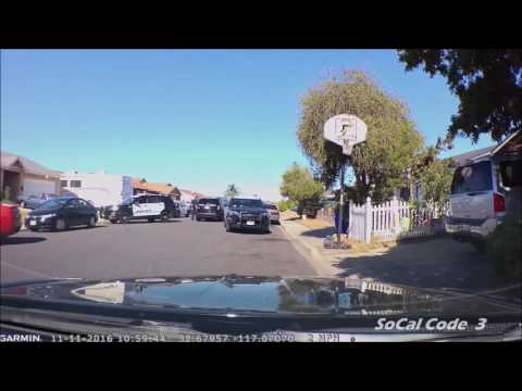 Foot Chase Search (Dash Cam Footage)