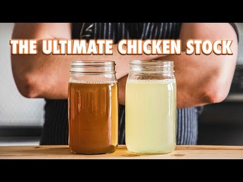Can i leave homemade chicken broth out overnight