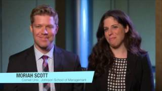 LGBT MBA Profile: Moriah Scott and Ryan Armstrong from Johnson Cornell University