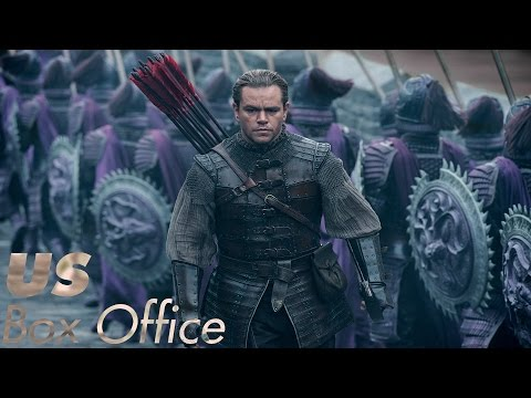 Top Box Office (US) Weekend of February 17 - 19, 2017