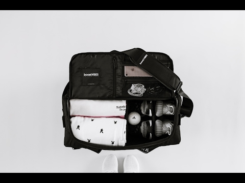 A QUICK LOOK AT THE BOOSTVIBES X PRIVATE LABEL SNEAKER DUFFLE BAG