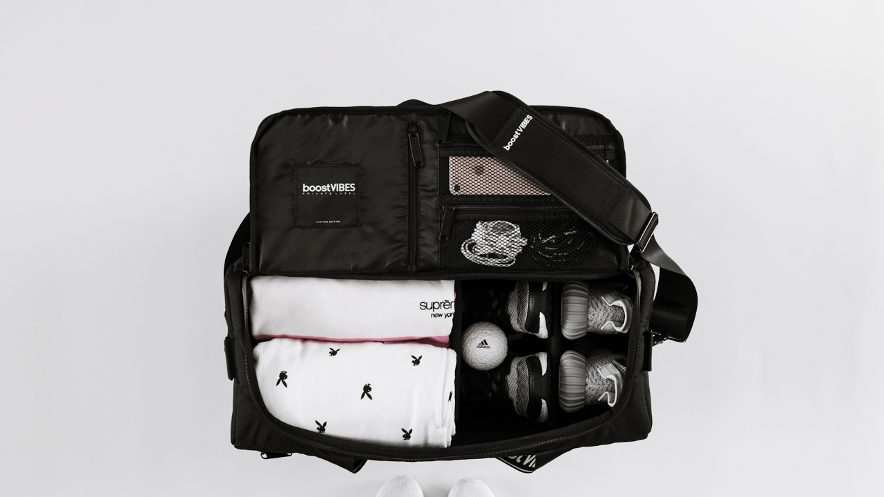 This is a photo of Crazy Private Label Sneaker Backpack