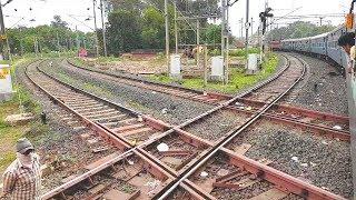 The Diamond crossing at Nagpur: Indian Railways