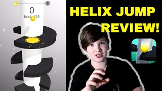 Helix Jump Game App Review