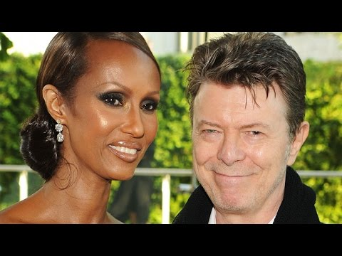 David Bowie Left Wife Iman Half of His Fortune In Will