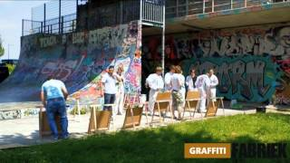 graffiti-fabriek - graffiti workshop vrijgezellenfeest mannen Amsterdam