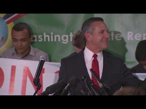 Dino Rossi speaks on election night
