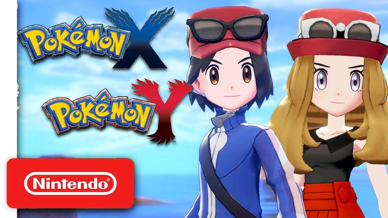 Pokémon X & Y Remake for Nintendo Switch - YouTube