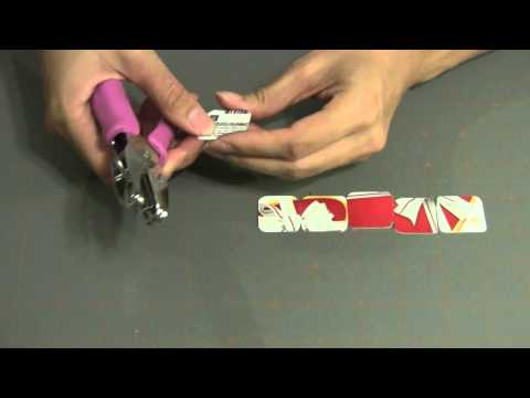 How to make a Gift / Credit Card Bracelet