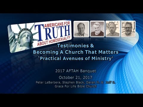 2017 AFTAH Banquet - Testimonies & Becoming A Church That Matters - Stephen Black (4 of 5)