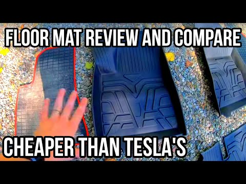 Winter Floor Mat Review | Custom Fit All Weather | Sun Shade | Tesla Model 3 |