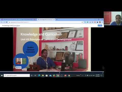 Students Centered Curriculum - Introduction Lecture Video