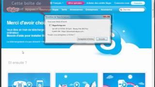 Télécharger et installer Skype