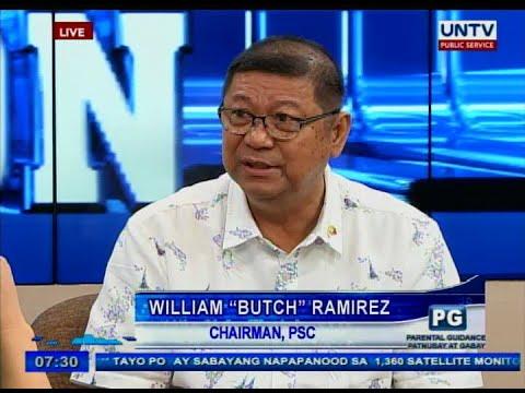 Untv Philippine Sports Commission Chairman William Butch