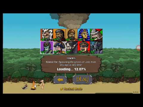 AGE OF WAR 2 BOSS FIGHT HADES AND BROM THE BASHER HACKED MODE