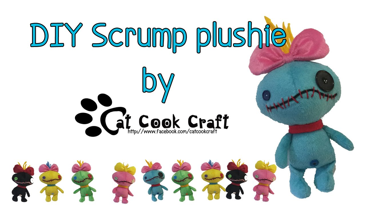 graphic about Free Printable Stuffed Animal Patterns identified as Do it yourself Scrump plushie (Free of charge practice)