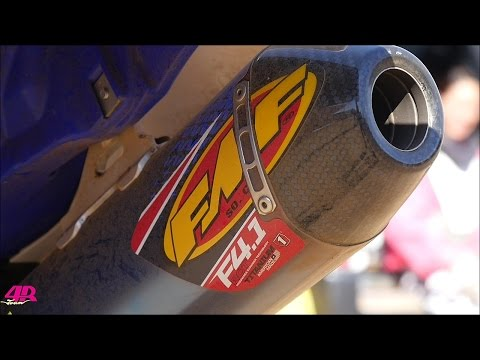 20160207 YZ250F with FMF RCT4 1 Full System