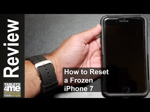Frozen Apple iPhone 7, Here is how Soft Reset a Frozen Apple iPhone 7 or 7 Plus
