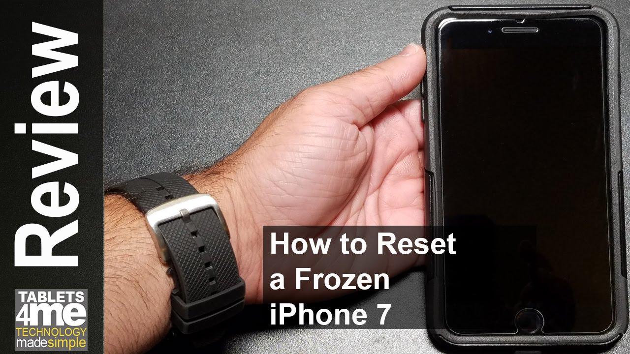 iphone 7 soft reset