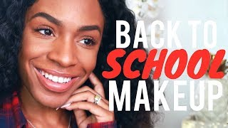 BACK TO SCHOOL MAKEUP: Quick, Affordable & Beginner Friendly! ▸ VICKYLOGAN