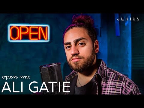 "Ali Gatie ""What If I Told You That I Love You""  Performance  Open Mic"