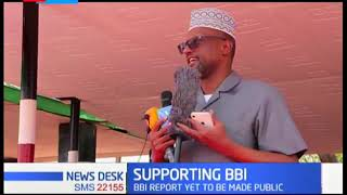 Leaders in Wajir County  pledge to support the Building Bridges Initiative