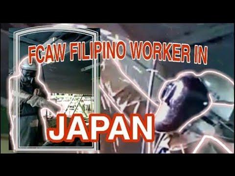 FCAW FILIPINO WELDER IN JAPAN