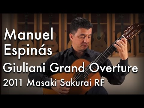 Giuliani Grand Overture Played By Manuel Espinás