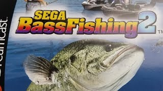 Classic Game Room - SEGA BASS FISHING 2 review for Sega Dreamcast