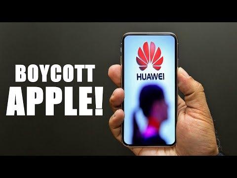 Apple BOYCOTT Grows In Favor Of Huawei