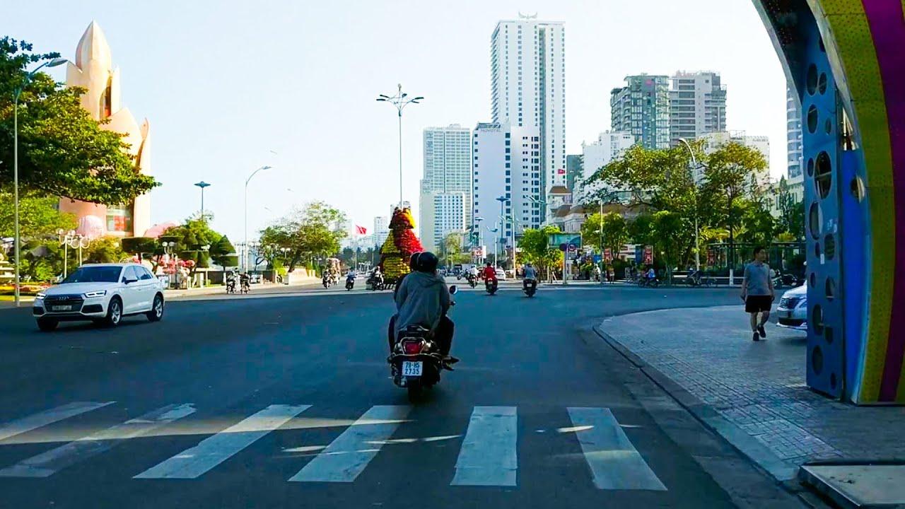 Đường Trần Phú Nha Trang Vắng Khách Du Lịch Như Chùa Bà Đanh
