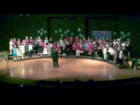 Wexford Montessori Magnet School Winter Singing 2012 Part-2