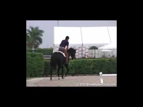 JumperClinic.com presents Scott Stewart Riding & Lecturing Be Cool  sample 4152007