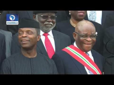 Law Weekly: Osinbajo swears In Onnoghen As Chief Justice of Nigeria