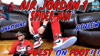 "FAILED AIR JORDAN 1 ""SPIDER-MAN"" UNBOXING 