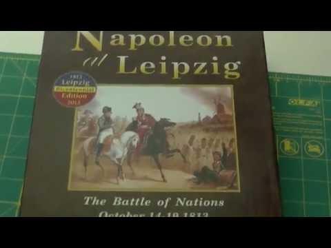 Napoleon at Leipzig - Inside the Box