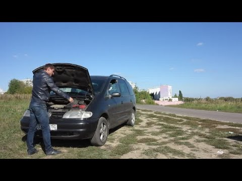 "Volkswagen Sharan VR6  2.8л 177л/с AWD 1999г."" Честный Тест Драйв"