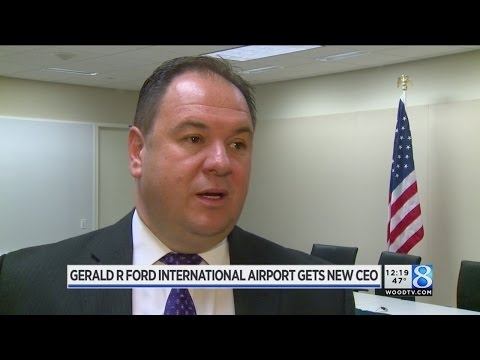 Meet Gerald R. Ford International Airport's new leader