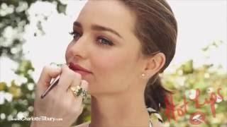 Hot Lips Lipstick feat. Miranda Kerr : Miranda May | Charlotte Tilbury