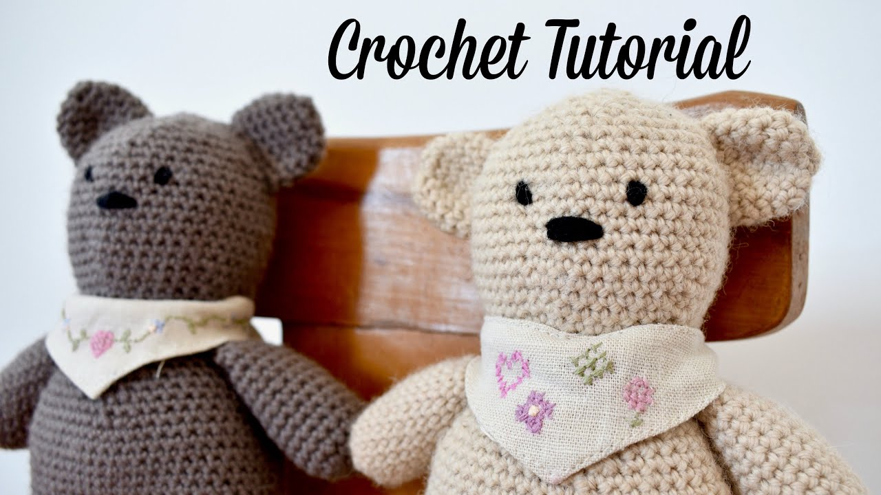 Free Crochet Teddy Bear Pattern | Crochet teddy bear, Crochet ... | 720x1280