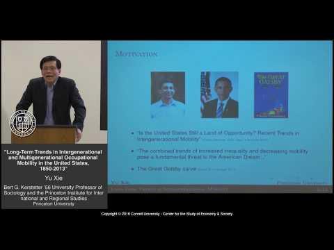 CSES Lecture Series, Yu Xie, Princeton