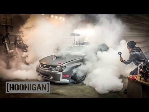 Holden Ute Build [Pt. 5] First Burnout Celebration //DT236
