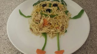 Egg Noodles - Chinese Chicken Noodles For Kids