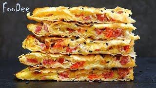Вкуснятина на ЗАВТРАК за 15 минут – Быстрый и вкусный рецепт из лаваша – Ленивый завтрак