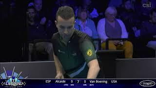 ON FIRE! Shane Van Boening vs David Alcaide | 2020 Diamond Las Vegas Open | Match #13