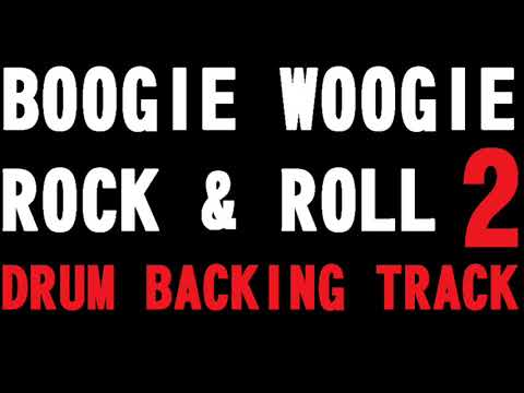 BOOGIE WOOGIE ROCK & ROLL BACKING DRUM TRACK 2 -170 BPM-
