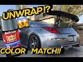 350Z GETS UNWRAPPED!!