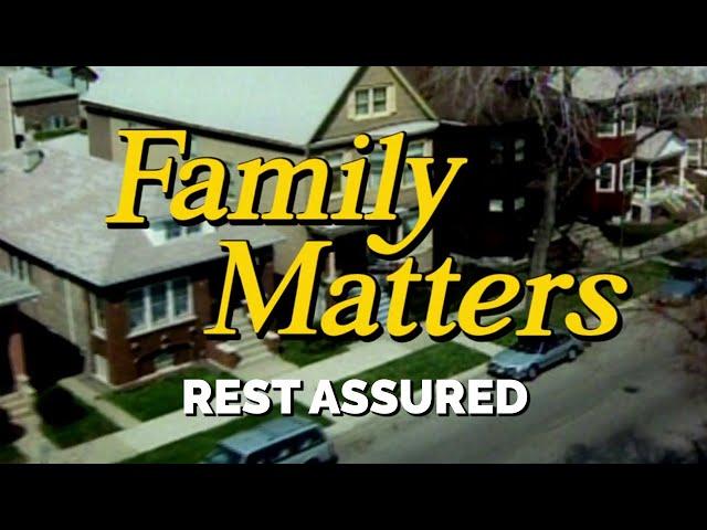 FAMILY MATTERS (Week 4) | Rest Assured