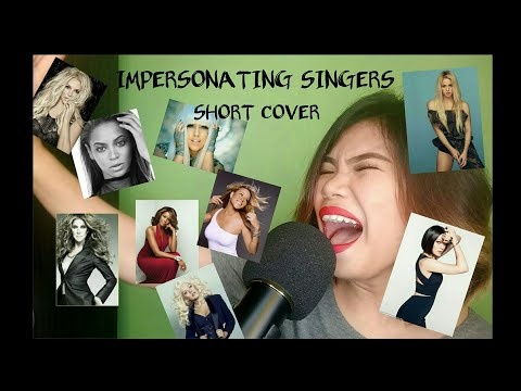 IMPERSONATING SINGERS 4 SHORT COVER